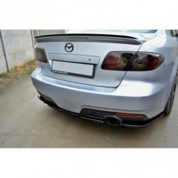 CENTRAL REAR SPLITTER Mazda...