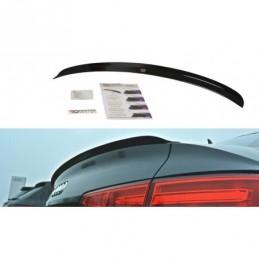 Spoiler Cap Audi A4 S-Line B9 Sedan Carbon Look
