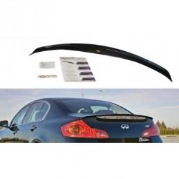 SPOILER CAP Infiniti G37 Sedan Carbon Look