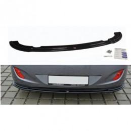 CENTRAL REAR SPLITTER Hyundai i30 mk.2 Carbon Look