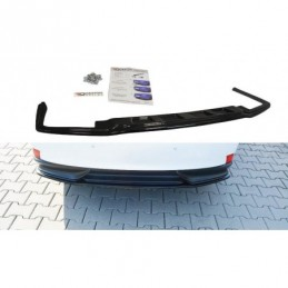 CENTRAL REAR SPLITTER Lexus IS Mk3 H (without vertical bars) Textured