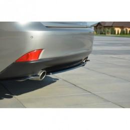 CENTRAL REAR SPLITTER Lexus...
