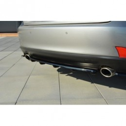 CENTRAL REAR SPLITTER Lexus IS Mk3 T (with vertical bars) Textured