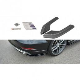 Rear Side Splitters Audi S3 / A3 S-Line 8V FL Sedan Carbon Look