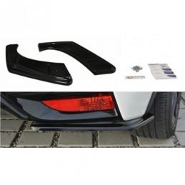 REAR SIDE SPLITTERS Honda Civic Mk9 Facelift Carbon Look