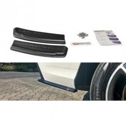 REAR SIDE SPLITTERS Mercedes GLE W166 AMG-Line Carbon Look