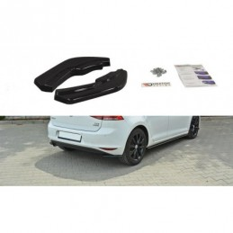 REAR SIDE SPLITTERS VW Golf Mk7 Standard Carbon Look