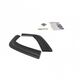 REAR SIDE SPLITTERS BMW M3 E46 Coupe Textured