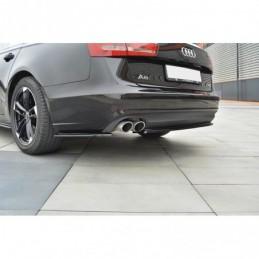 Rear Side Splitters Audi A6 C7  Textured