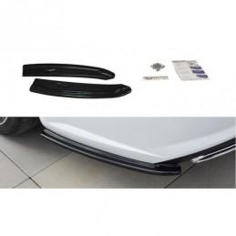 Rear Side Splitters Audi S6 / A6 S-Line C7 FL Avant Textured