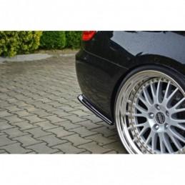 REAR SIDE SPLITTERS for BMW 3 E92 M-PACK FACELIFT Textured