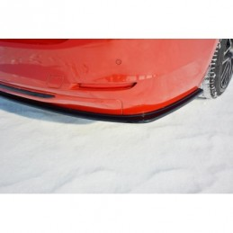 REAR SIDE SPLITTERS BMW 3 F30 Textured