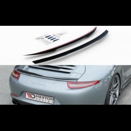 Spoiler Cap Porsche 911 Carrera 991 Textured