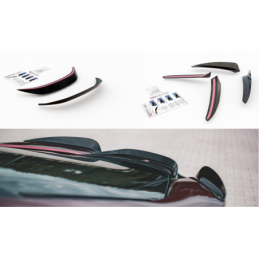 Set of Spoiler Caps BMW i8 Textured