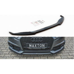 Front Splitter Audi S6 / A6 S-Line C7 FL Carbon Look