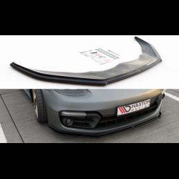 Front Splitter Porsche Panamera Turbo / GTS 971 Carbon Look