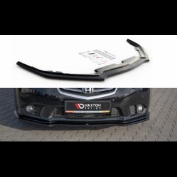 Front Splitter Honda Accord VIII (CU Series) Facelift Carbon Look