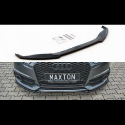 Front Splitter Audi S6 / A6 S-Line C7 FL Gloss Black