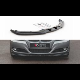 Front Splitter V.2 BMW 3 E90/E91 Facelift Gloss Black