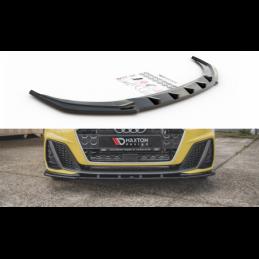 Front Splitter V.1 Audi A1 S-Line GB Gloss Black