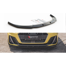 Front Splitter V.2 Audi A1 S-Line GB Gloss Black