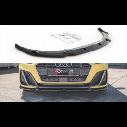 Front Splitter V.3 Audi A1 S-Line GB Gloss Black