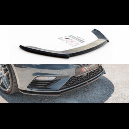 Front Splitter V.4 Seat Leon Cupra / FR Mk3 FL Textured