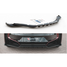 Central Rear Splitter (with vertical bars) BMW i8 Carbon Look