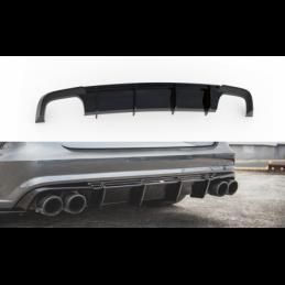 Rear Valance Audi S6 / A6 S-Line C7 FL Gloss Black