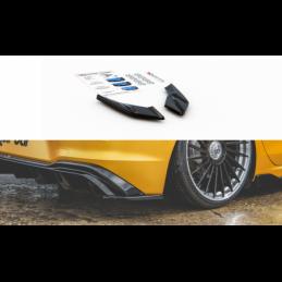 Rear Side Splitters VW Golf 8 Carbon Look