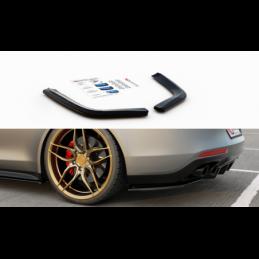 Rear Side Splitters Porsche Panamera Turbo / GTS 971 Carbon Look