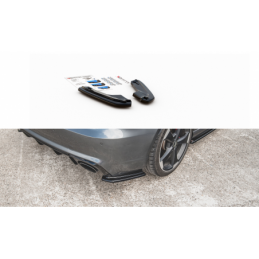 Rear Side Splitters V.1 Audi RS3 8V Sportback Carbon Look