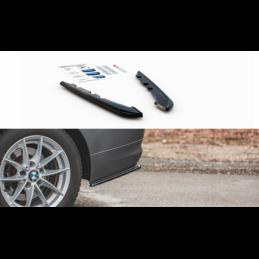 Rear Side Splitters BMW 3 E91 Facelift Gloss Black