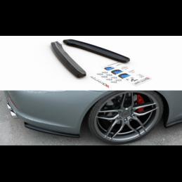 Rear Side Splitters Porsche 911 Carrera 991 Gloss Black