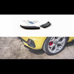 Rear Side Splitters Audi A1 S-Line GB Gloss Black