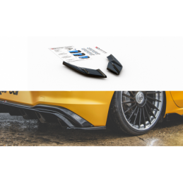Rear Side Splitters VW Golf 8 Textured