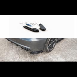 Rear Side Splitters V.1 Audi RS3 8V Sportback Textured