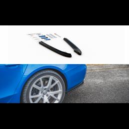 Rear Side Splitters Audi S4 / A4 S-Line B8 Sedan Textured