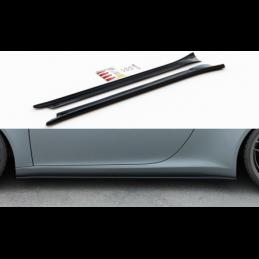 Side Skirts Diffusers Porsche 911 Carrera 991 Gloss Black