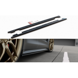 Side Skirts Diffusers Porsche Panamera Turbo / GTS 971 Textured