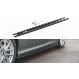 Side Skirts Diffusers BMW 3 E90/E91 Facelift Textured