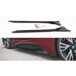 Side Skirts Diffusers BMW i8 Textured