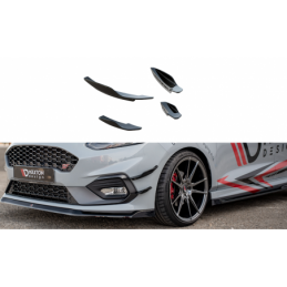 Front Bumper Wings (Canards) V.2 Ford Fiesta Mk8 ST / ST-Line