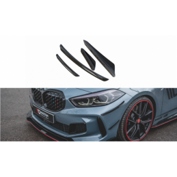 Front Bumper Wings (Canards) BMW 1 F40 M-Pack / M135i