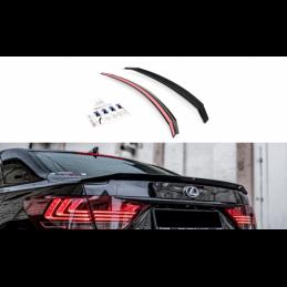 Spoiler Cap Lexus LS Mk4 Facelift Gloss Black