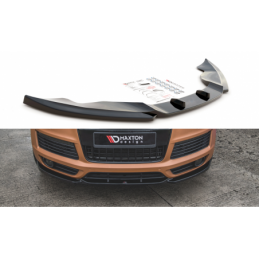 Front Splitter Audi Q7 S-Line Mk.1 Carbon Look