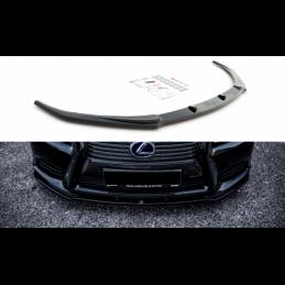 Front Splitter Lexus LS Mk4 Facelift Gloss Black