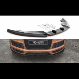 Front Splitter Audi Q7 S-Line Mk.1 Gloss Black