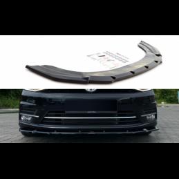 Front Splitter Volkswagen Caddy Mk. 4 Gloss Black