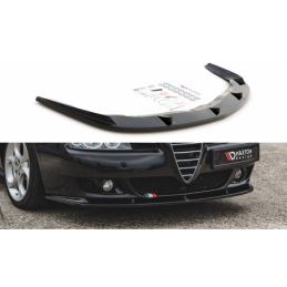 Front Splitter Alfa Romeo 156 Facelift Textured